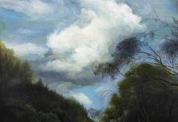 Painting of Early Spring Wind by Min-Woo Bang