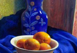 Still Life in Blue by Ernesto Arrisueno