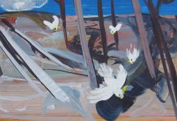 Untitled (Shoalhaven and Swan) by Arthur Boyd