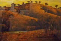 Hillside and Waterline by Patrick Carroll