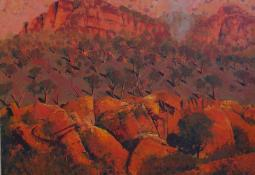 Morning Light, West MacDonnell Ranges by Patrick Carroll