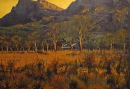 Morning Silhouettes - Wilpena Pound by Patrick Carroll