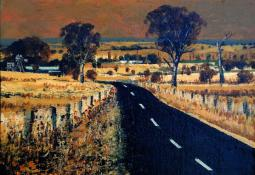 Summer - The Road to Orange by Patrick Carroll
