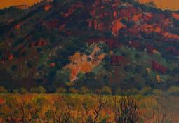 Sunset in the West MacDonnell Ranges by Patrick Carroll