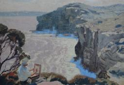 Into the Light - North Head by Frederick Leist