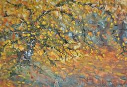 Tree in Autumn by Celia Perceval