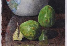 Ginger Jar and Guavas by Thornton Walker