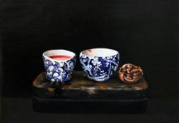 Still Life with Walnut by Jo Young