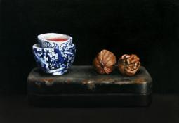 Still Life with Walnuts by Jo Young